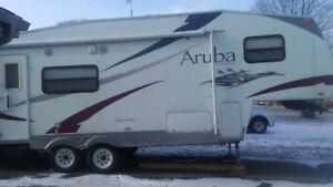Aruba 5th wheel camper