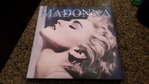 Madonna True Blue picture on canvas