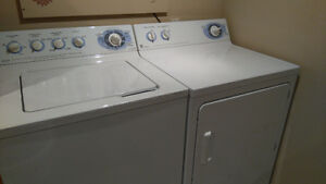 GE EVOLUTION WASHER AND DRYER