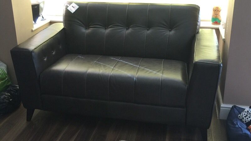 Brand New Dfs Rally Leather 2 And 3 Seater Sofa Quality Milan Can Deliver