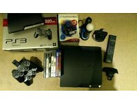 PlayStation 3! All accessories + games! Great bundle