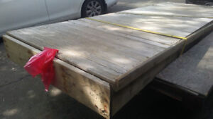 12 foot deck access ramp used