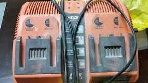 Ridgid Charger Like New  Sell for over 100  Selling for only 40
