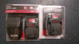 £15 for 2Ah Battery/Charger & 4Ah Battery