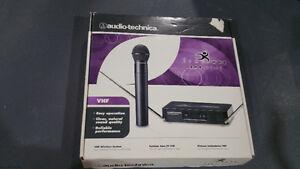 Mic wireless Audio technica free way