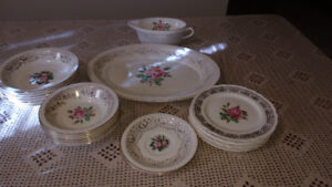 Dishes - Cornish Rose China