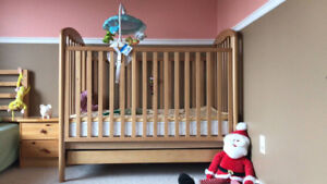 Cribs with Matress and Accessorices