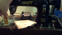 Vintage Pfaff Sewing Machine 1930's Vintage Pfaff 30