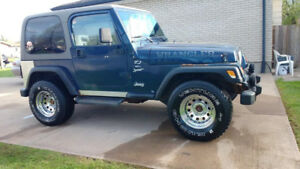 2000 TJ Sport Jeep For Sale