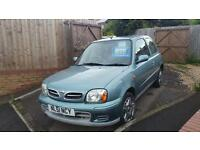Nissan Micra 1.0 2001MY Activ vey low miles for year fsh