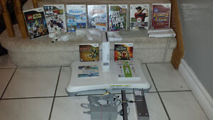 Wii System and 11 Games
