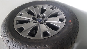 275-55-R20 Ford OEM F150 Rims and Tires- Brand New