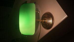 Great old vintage desk lamp.