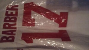 1976 team Canada signed bill barber nhl hockey jersey with coa