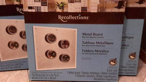 ☆new☆ magnetic metal boards with 4 canisters
