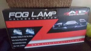 Fog lamp and assembly for mazda3