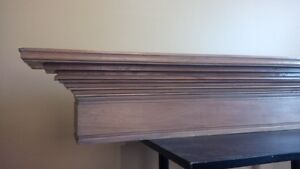Solid Maple MANTLE - for Fireplace or Wall Display Kitchener / Waterloo Kitchener Area image 5
