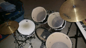 Drums and Stool.