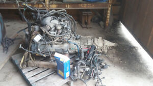 Ford 5.4L V8 Triton engine and transmission