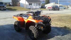 Almost new Honda Fourtrax for sale or trade