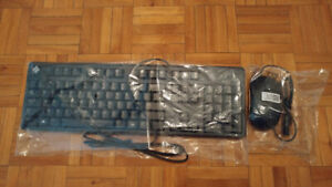 BRAND NEW USB KEYBOARD AND MOUSE