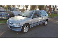 Peugeot 106 1.1 ZEST 2 (silver) 2001
