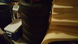 4 brand new tires with spare Cambridge Kitchener Area image 1