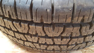 BF Goodrich Radial T/A 225 70 R14 Tires with eagle alloy wheels Strathcona County Edmonton Area image 3