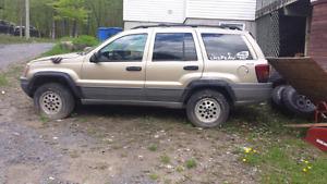 Geep Grand Cherokee 2000 pour off road ou pieces