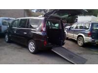 2010 Renault Espace Dynamique Diesel 150 Automatic Wheelchair Accessible Vehicle