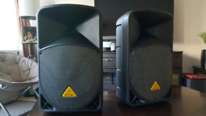 Behringer powered speakers