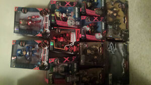 collection of metal diecast heros
