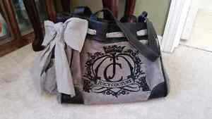 Grey and Black JUICY COUTURE purse  Cambridge Kitchener Area image 1