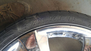 20 inch tires for sale in good condition