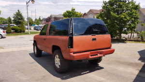 1997 2 door chevy tahoe 6.5 turbo diesel