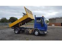 2008 08 PLATE Iveco Eurocargo TIPPER