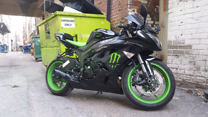 2009 ZX6R Monster Energy edition  RARE!