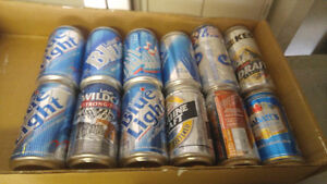 """BEER Cans """"full"""" collectible  cans for $30.00 FIRM London Ontario image 4"""