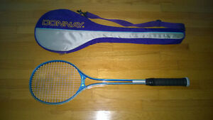 SQUASH RACKET WITH CARRY BAG/CASE - Black Knight SUPER