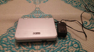 Hardly used Mustek Portable DVD Player