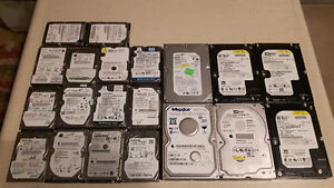 Various Hard Drives for Sale