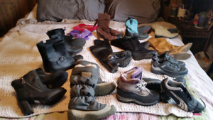 Boots & shoes New & lightly used