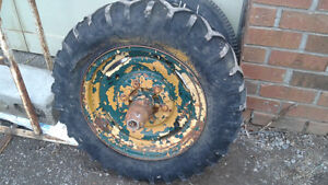 AWESOME antique military wheel for lawn art or man cave decor