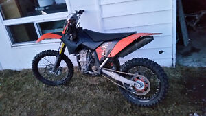 2008 ktm sxf 450 with ownership