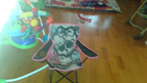 chaise pliable monster high