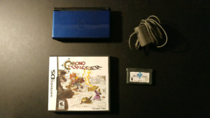 Nintendo DS Lite with 2 games, charger