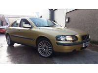 2002 02 VOLVO S60 2.0T S MANUAL.GREAT COLOUR.FULL S/H & SERVICED 700 MILES AGO .