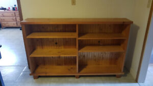 Solid pine bookcase !