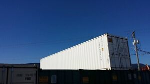 New 8x40 Shipping Container with Insulation