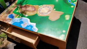 Child's Dinky car table